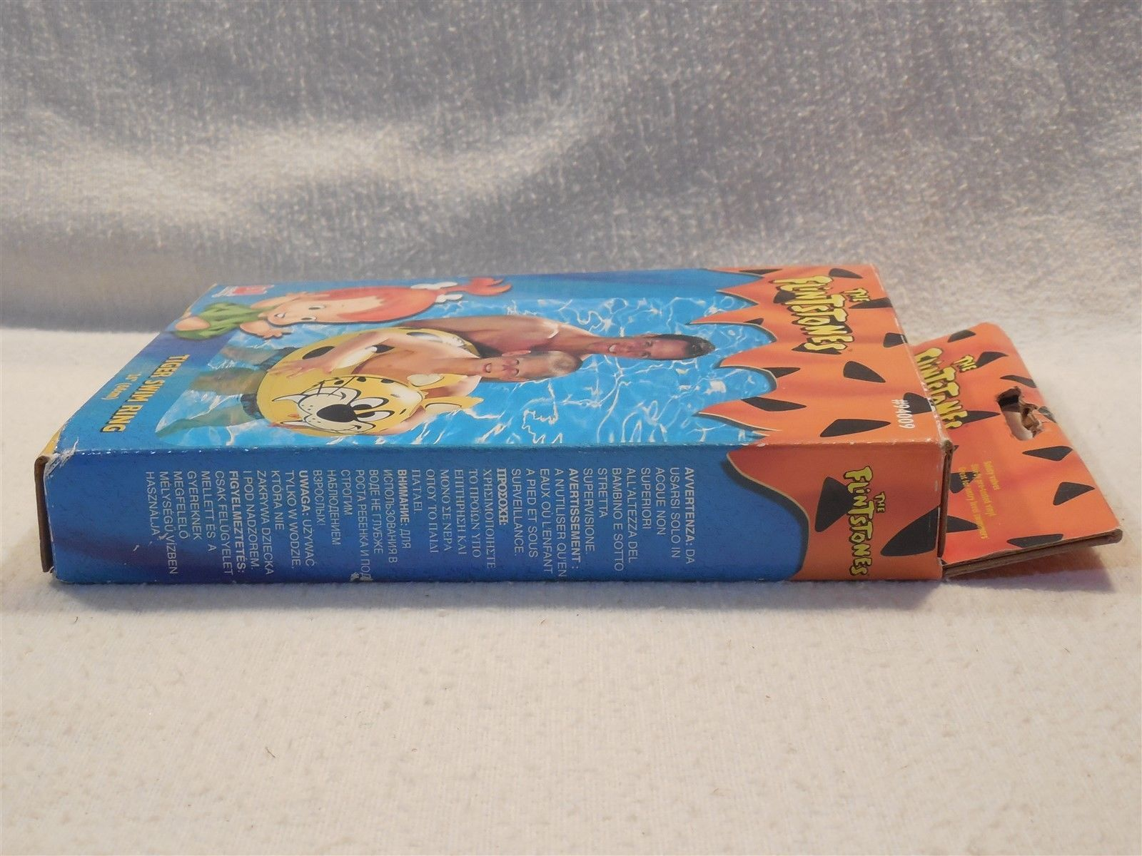 "Flintstones 2005 Bestway Baby Puss Tiger Swim Ring 26"" MIB"