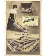 Home of Hoover Vacum Cleaner 1913 Post Card - $8.00