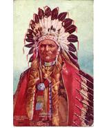 Geronimo Apache Indian Chief Song of Hiawatha Post Card - $15.00