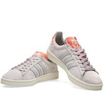 Adidas Originals Men's Campus Trainers Suede Leather Shoes - BB0078 - Grey - $62.88