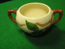 -Magnicent   FRANCISCAN  Sugar Bowl.... No Lid.....-Apple Pattern - $7.59