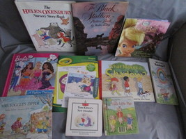 10 Kids Children's Reading and Picture Books assorted 1970-s - 2011 - $24.74