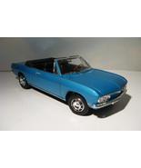 ~ 1969 Chevrolet Corvair  Monza conv. - 1:18 Yat Ming diecast - Azure Tu... - $34.50