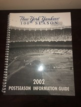 The New York Yankees 100th Season 2002 Information Guide - $11.30