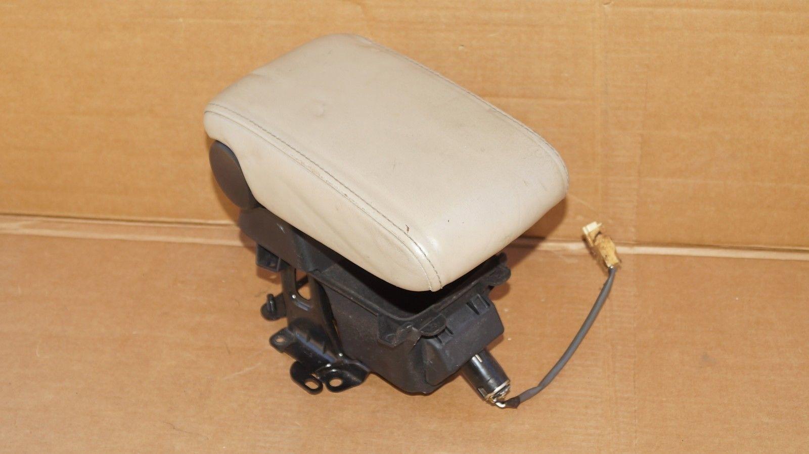Lexus IS300 Leather Armrest Center Console Lid Cover 01-05 TAN/Beige