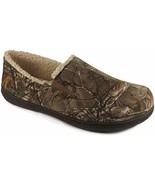 Slippers Men's Sherpa Lined Aline Military Green Real Tree Pattern (9/10) - $19.79