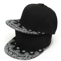 NEW Fashion Mens Black Snapback Hats baseball cap Adjustable Unisex Hip hop hats