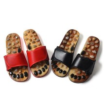 Acupressure Massage Slippers With Natural Stone, Therapeutic Reflexology... - £18.60 GBP+