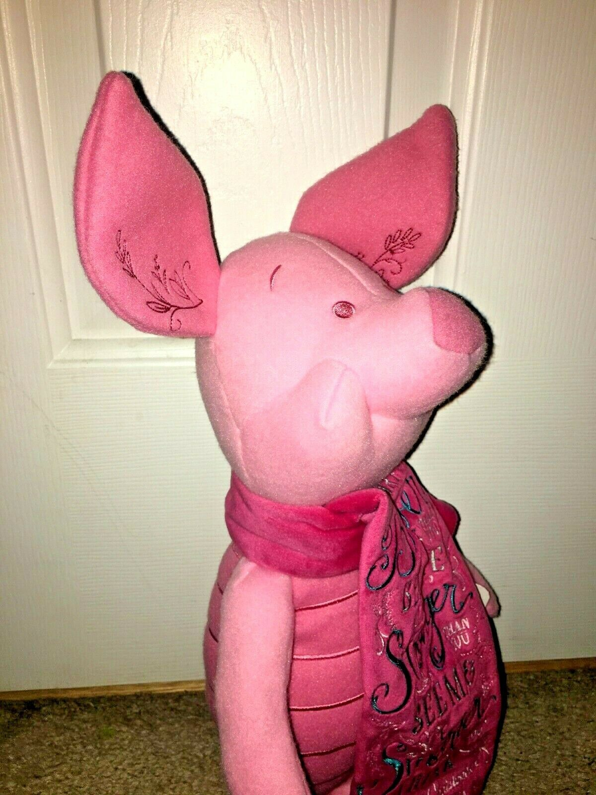 Disney Store Exclusive Wisdom Collection Piglet Plush April Limited Release