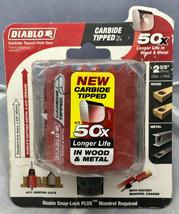 "Diablo DHS2625CT 2-5/8"" Dia x 2-3/8"" (60MM) Cutting Depth Carbide Tipped... - $23.76"