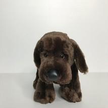 "Ganz Webkinz Chocolate Lab Puppy Dog Plush Stuffed Animal Beanie 9"" Long... - $18.80"