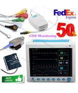 USA Capnograph CO2 Monitoring Patient Monitor ECG NIBP SPO2 RESP TEMP PR... - $1,286.01