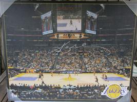 Kobe Bryant Signed 16x20 Canvas Print Photo - Global Authentics - $399.99