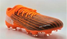 Puma Ultra 1060986 01 Orange Sz 9 Matrix Mesh FG/AG Soccer Cleats - $65.41