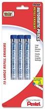 Pentel Eraser Refills for Mechanical Pencils, Pack of 15 PDE-1 Eraser Re... - $5.19