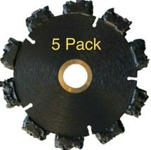 """5pk 5"""" Fire Rescue Root Cutter Carbide tipped Demolition Blade x .250  - $405.90"""