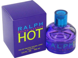 Ralph Lauren Hot Perfume 3.4 Oz Eau De Toilette Spray image 1