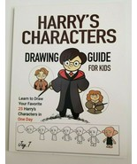 Harry Potter's Characters Drawing Guide for Kids Learn to Draw NEW Peopl... - $10.99