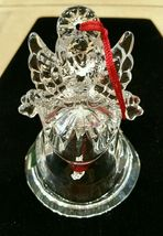 Waterford Crystal Marquis Noel Angel Bell Christmas Ornament Third in a Series image 6