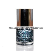 WET N WILD Color Nail Polish #34215 CRUISIN' THE BLVD Glitter IN THE SPO... - $4.48