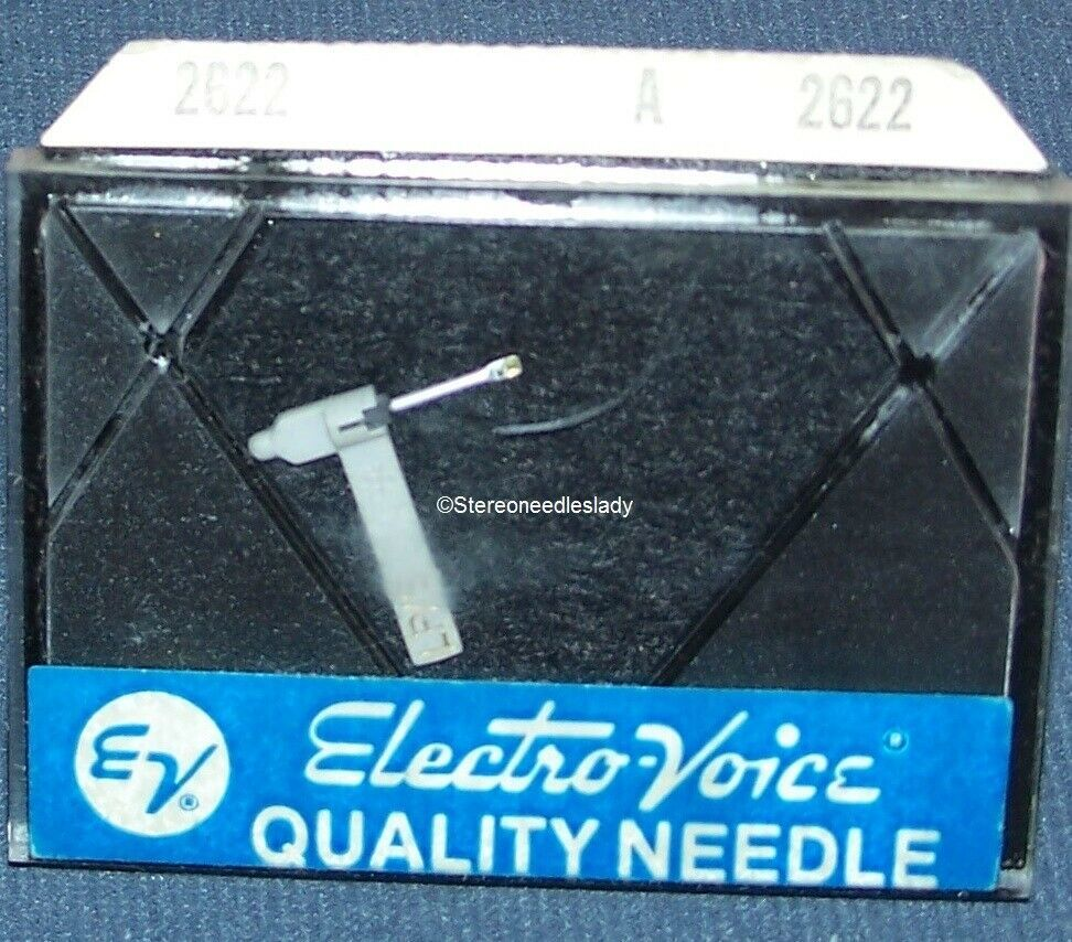 2 New Needle//Stylus for Electro-Voice 2620 EV 141 158 256 Turntable Cartridges