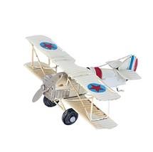Berry President(TM Vintage Retro Wrought Metal Iron Biplane Plane Aircra... - $22.10