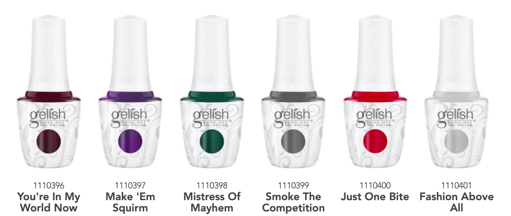 Primary image for Gelish Disney Villains Fall Collection 2020 - Gel Polish beautiful color 0.5oz