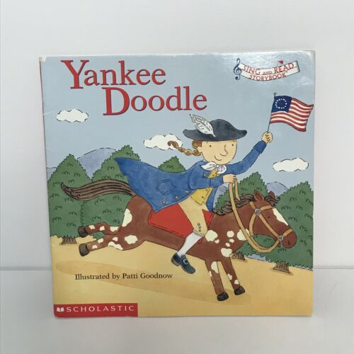 Primary image for Scholastic Yankee Doodle Sing and Read Storybook 1st Printing Paperback 2002
