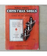 Vintage 1929 World Famous Christmas Songs by Robbins Music Songs of the ... - $49.45