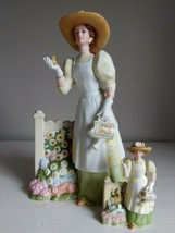 Avon 2008 Mrs Albee Figurine Presidents Club Rep Award Full Size & Mini NO Box  - $15.14