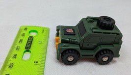 Vintage 1980's G1 Transformer BRAWN Robot Figure Green Jeep - missing arms - $6.00