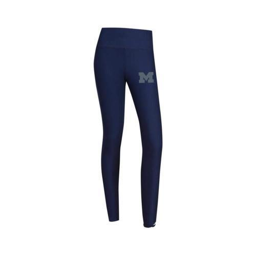 Women's Michigan Wolverines Leggings Fortitude Yoga Pants NCAA Licensed
