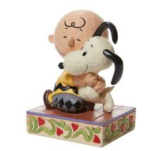 """Beagle Hug"" a Charlie Brown and Snoopy Figurine - Jim Shore Peanuts Collection image 3"