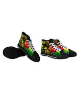 Rare New Rasta Mania Reggae Shoes Men Unisex - $48.99
