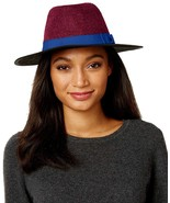 INC International Concepts Women's Colorblock Flat Brimmed Panama Hats - $24.74+
