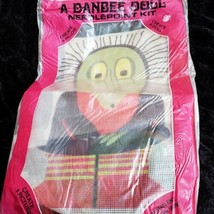 "Vtg Dandee Doll Pillow Wella the Witch Needlepoint Kit 16"" OPEN PACK SEE... - $18.68"