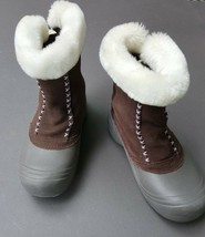 Columbia Snow Boots Womens Girls Size 6 - $33.24