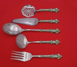 El Grandee by Towle Sterling Silver Thanksgiving Serving Set 5-Piece Custom Made - $359.00