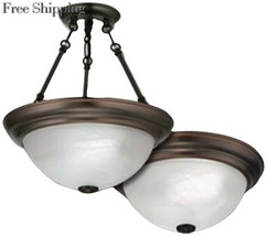 Lithonia Lighting 11784 BZ M4 15-Inch 2700K Fluorescent Sheffield... - $84.73