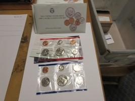 1989 , United States Mint , Uncirculated Mint Set , Lot of 5 Sets - $40.00