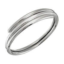 Taxco .925 Sterling Silver Double Bangle Bracelet - Mexican Silver Jewelry - $119.95