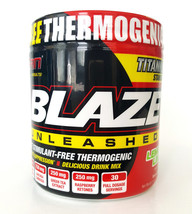 SAN - Blaze Unleashed, Lemon Lime - 140 grams Delicious Drink Mix - $25.01