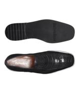 Belvedere Gavino Ostrich /Italian Calf Slip On Black Dress Shoes Style:... - £259.81 GBP