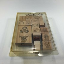 (15) 1997 Stampin' Up Rubber Stamps Miscellaneous Thanks It's Your Day  - $39.99