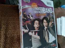 Nintendo Wii Nickelodeon The Naked Brothers Band: The Video Game - COMPLETE image 1