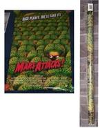 Tim Burton Mars Attacks Poster 1996 OSP New Tim Burton Martians New - $16.99