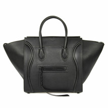 Celine Medium Luggage Phantom Bag In Black Leather - $2,884.49 CAD