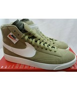 W Nike Blazer Mid Rebel Neutral Olive OFF-White Shoes BQ4022-201 Size 12 - $88.20