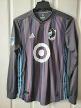 Adidas Minnesota United FC Home Long Sleeve Jersey authentic 2018 Size M NWT - $85.00