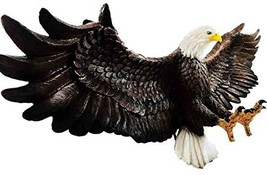 Ebros Freedom Reigns Large Flying Bald Eagle Wall Decor Statue 2 Feet Lo... - $63.00